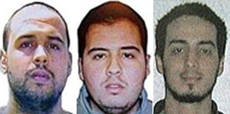 El Bakraouin veljekset (vas.) Khalid ja Brahim sekä Najim Laachraoui on belgialaismediassa nimetty epäillyiksi terrori-iskun tekijöiksi.