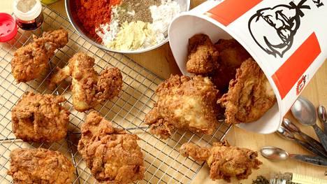 KFC:n päätuote on friteerattu kana.