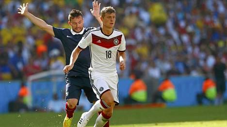 Toni Kroos on yksi Saksan avainpelaajista.