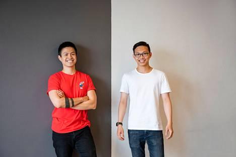 Tran ja Chu kehuvat Suomen startup-kulttuuria.