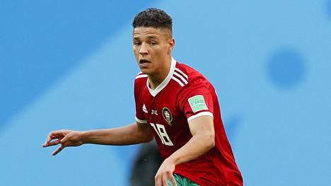 Amine Harit edusti Marokkoa MM-turnauksessa.