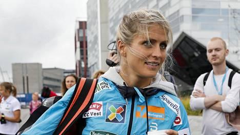 Therese Johaug kellotti kovan ajan Norjan yleisurheilun mestaruuskisoissa.