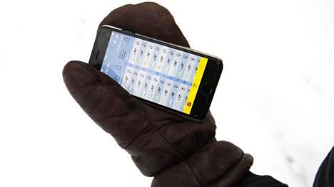 Paukkupakkaset panevat myös puhelimet koetukselle.