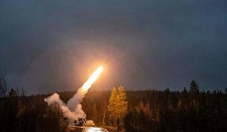 Testiammunta tapahtui lauantaina Rovajärven harjoitusalueella.