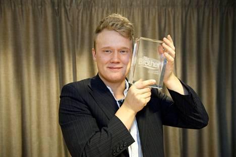 Andte Gaup-Juuso voitti BB:n vuonna 2014.