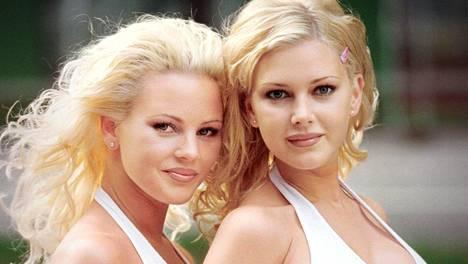 Graafin siskot nähtiin Suomessa 1999 moneen otteeseen – jopa Voimamiesten grand prix tapahtumassa Jouko Aholan kanssa.