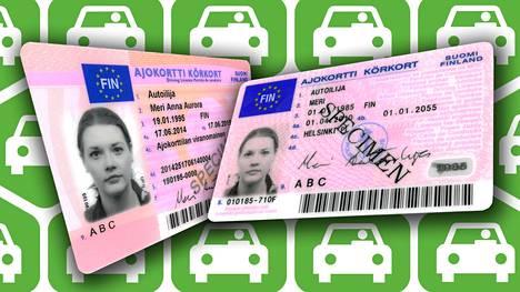Ajokorttitietoja pääsee nyt katsomaan vapaasti Trafin verkkosivuilta.
