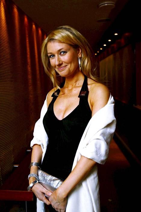 Maria Guzenina itsenäisyyspäivän jatkoilla vuonna 2008.