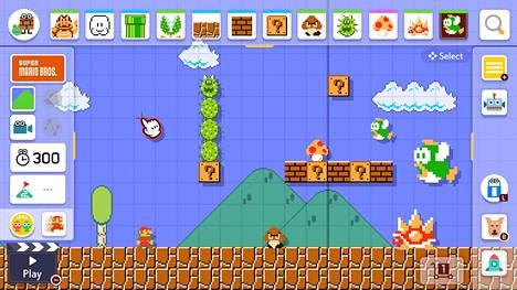 Nykyään kuka tahansa pääsee tekemään omia Super Mario Bros. -kenttiä käden käänteessä Switchin erinomaisessa Super Mario Maker 2 -pelissä.