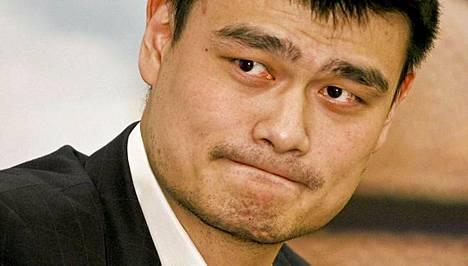 Yao Ming on supersuosittu kotimaassaan Kiinasssa.