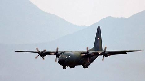 Chilen ilmavoimille kuuluva C-130 Hercules -mallinen kone vuonna 2006 otetussa arkistokuvassa.