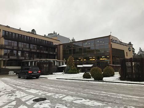 ForRestMix-hotelli on rakennettu 10 vuotta sitten. Siinä on yhteensä 107 huonetta.