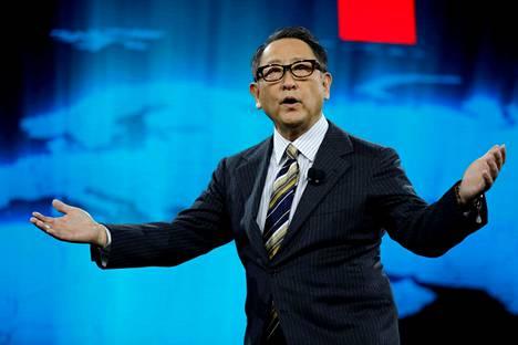 Toyotan presidentti Akio Toyoda on yksi autoalan suurimmista vaikuttajista maailmassa.