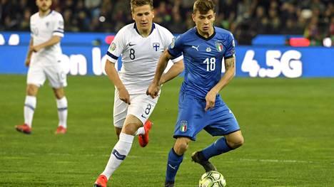 Italia löi Huuhkajat 2–0 – IS seurasi EM-karsintojen avausottelua