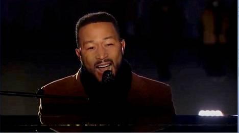John Legend oli yksi esiintyjistä.