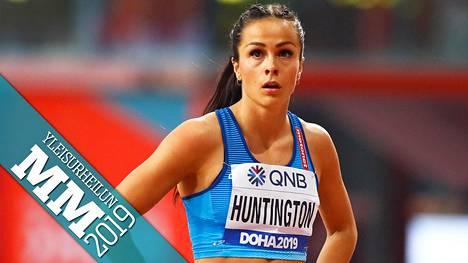 Maria Huntington joutui keskeyttämään seitsenottelun torstaina.