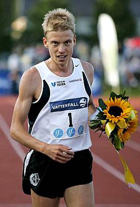3000 metrin estejuoksun Euroopan mestari, Jukka Keskisalo, oli tiukassa äänestyksessä neljänneksi seksikkäin mies.