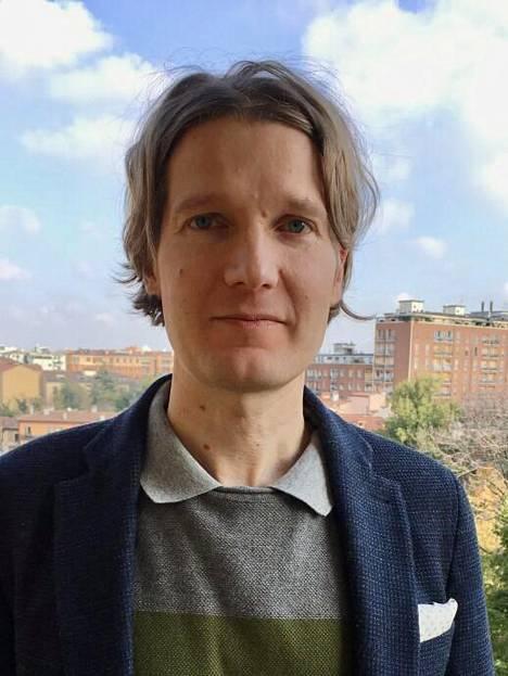 Turun yliopiston rikosoikeuden apulaisprofessori Tatu Hyttinen.