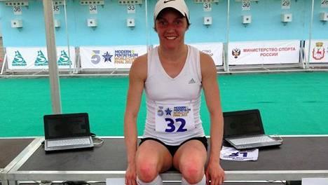 Maailmanmestaruuden lisäksi Eevi Bengs saavutti vuonna 2017 parikilpailun MM-hopeaa. Arkistokuva vuodelta 2013.