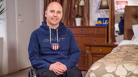 Toni Piispasen isoimpana tavoitteena on Tokion paralympiakisat ja siellä pikamatkoilla kultamitalin voittaminen.