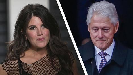 Monica Lewinsky muistetaan salasuhteestaan Bill Clintoniin.