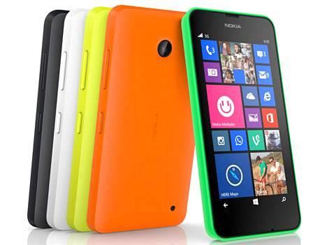 Lumia 630 oli ensimmäinen Microsoftin yrityskaupan jälkeen lanseeraama puhelin.