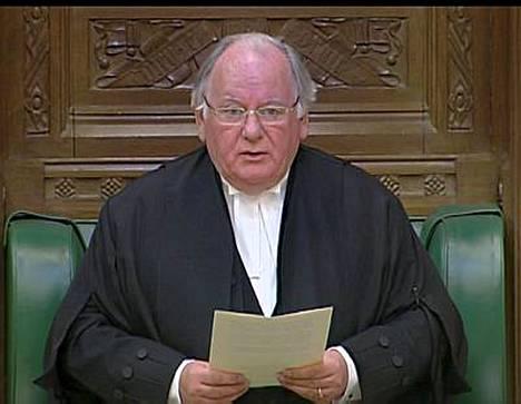 Britannian parlamentin alahuoneen puhemies Michael Martin pahoitteli kulukorvausskandaalia.