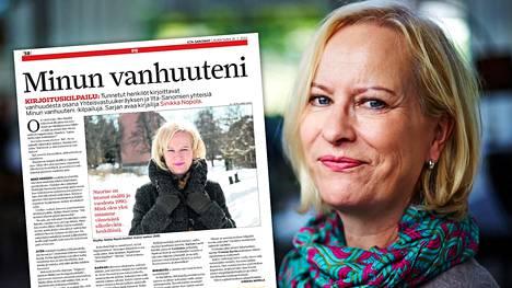 Palkittu kirjailija Sinikka Nopola, 67, on kuollut vaikeaan sairauteen keskiviikkona Helsingissä. Nopola kirjoitti keväällä 2013 Ilta-Sanomiin, millainen hän on vuonna 2040. IS julkaisee Nopolan kirjoituksen nyt uudelleen.