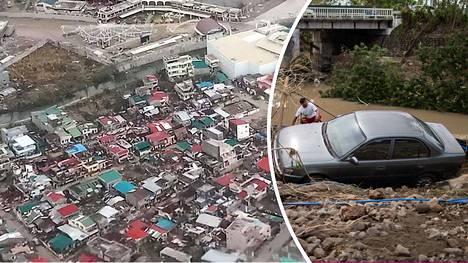 Taifuuni aiheutti tuhoja Catanduanesin saarella ja Batangas Cityssä.