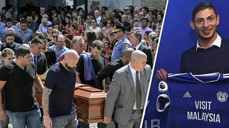 Kauniit puheet Emiliano Salasta unohtuivat – raadollinen rahariita traagisesti kuolleesta jalkapalloilijasta kärjistyy