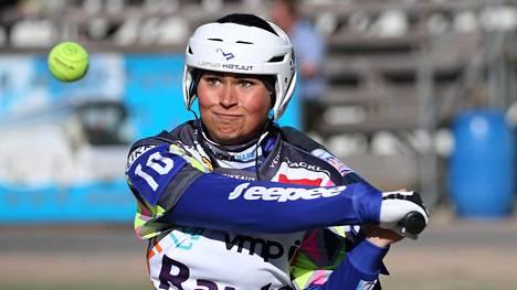 Janette Lepistö teki yhden kauden lyötyjen juoksujen ennätyksen