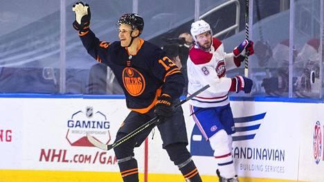 Jesse Puljujärvi upotti Montrealin.