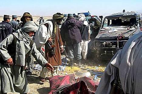 Kandaharin itsemurhaisku on Afganistanin tämän vuoden verisin.