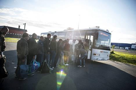 IS raportoi pakolaiskriisistä Suomen ja Ruotsin rajalta.