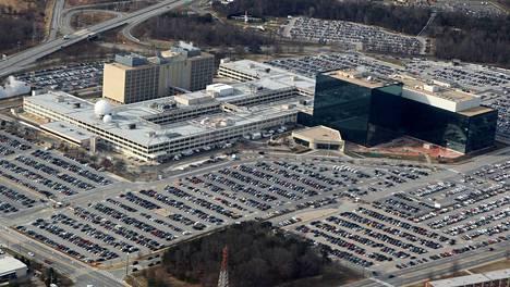 USA:n turvallisuusvirasto NSA:n päämaja USA:n Marylandin Fort Meadessa.