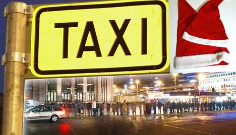 Pikkujoulua juhlivien ei välttämättä tarvitse enää vaeltaa samalle taksitolpalle.