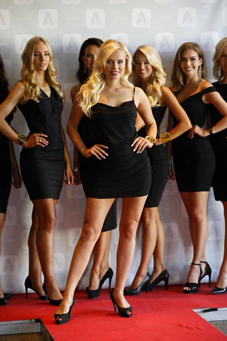Katariina Juselius kilpailee Miss Suomi -kisassa numerolla 10.