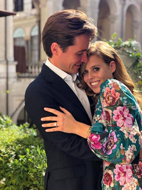 Beatrice ja Edoardo ovat lähipiirin mukaan täysin rakastuneita toisiinsa.