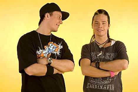 Niko Nousiainen ja Sauli Koskinen ystävystyivät Big Brotherissa.