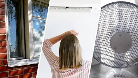 Asumisterveysasetuksen mukaan sisälämpötilan tulisi pysyä lämmityskauden ulkopuolella 18–32 asteen rajoissa. Yli 32 asteen sisälämpötilan katsotaan olevan jo terveydelle haitallinen.
