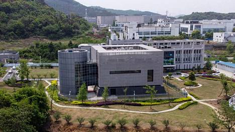 P4-viruslaboratorio Kiinan Wuhanissa.