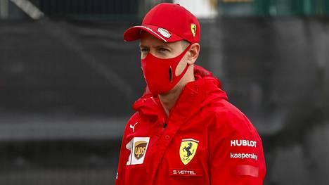Sebastian Vettel ei aja Ferrarilla enää kaudella 2021.