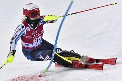 Rosa Pohjolainen onnistui Levillä erinomaisesti.