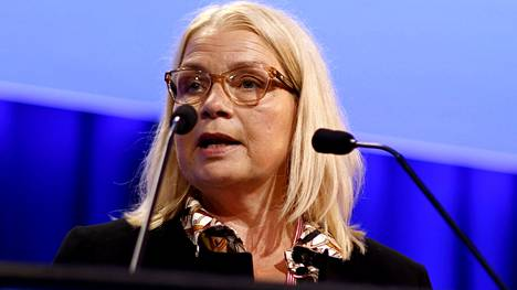 Leena Meri valittiin perussuomalaisten ensimmäiseksi varapuheenjohtajaksi puoluekokouksessa Seinäjoella elokuussa.