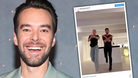 Mikko Leppilampi pisti tyttärensä kanssa tanssiksi.