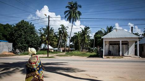 Arkistokuva Mosambikin pohjoisrannikolla sijaitsevasta Palman kaupungista on otettu helmikuussa 2017.