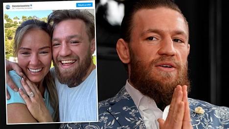 UFC-tähti Conor McGregor ilmoitti kihlautuneensa pitkäaikaisen kumppaninsa kanssa.