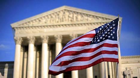 Yhdysvaltain korkein oikeus sijaitsee Washingtonin keskustassa lähellä Capitolinkukkulaa.