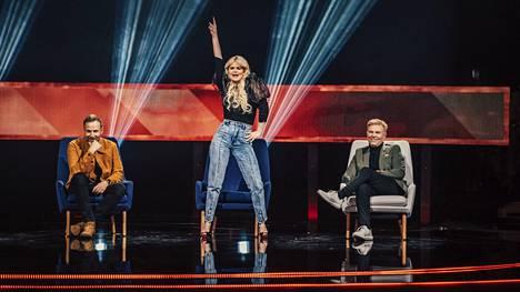 Erika Vikman uskoo kehonkielen paljastavan hyvän laulajan.