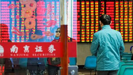 Kiinan osakemarkkina on ollut tänä vuonna jyrkimmässä nousussa maailmassa.